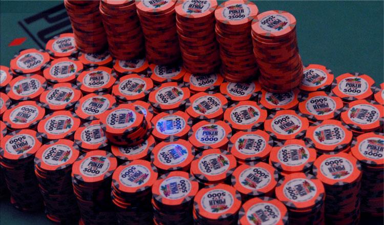 Viktor Blom in the World Series of Poker